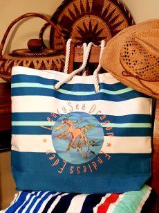 Leafy Sea Dragon Beach Bag